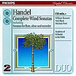 Academy Of St. Martin-In-The-Fields Chamber Ensemble Handel: Complete Wind Sonatas