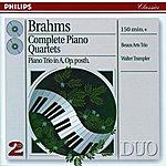 Beaux Arts Trio Brahms: Complete Piano Quartets