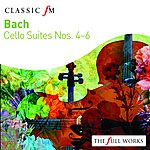 Maurice Gendron Bach: Cello Suites Vol. 2 Nos 4 - 6