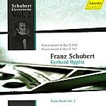 Gerhard Oppitz Schubert: Piano Works Vol. 2