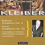 Erich Kleiber Beethoven : Symphony No.6 in F-Dur, Op.68 Pastorale - Mozart : Symphony No.33 KV 319