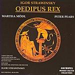 Martha Mödl Stravinsky : Oedipus Rex(recording 1951)
