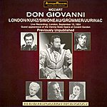 George London Mozart : Don Giovanni(Live recording London (Sept.1954))