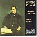 Lorenzo Regazzo Rossini: Musique Anodine