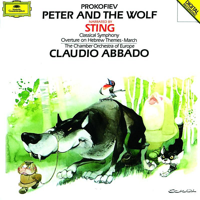 Cover Art: Prokofiev: Peter and the Wolf; Classical Symphony Op.25; March Op.99; Overture Op.34
