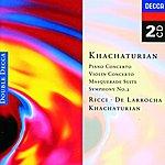 Aram Khachaturian Khachaturian: Piano Concerto/Violin Concerto, etc.
