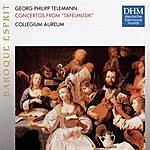 Collegium Aureum Telemann: Tafelmusik