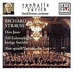 David Zinman Richard Strauss: Don Juan/Till Eulenspiegel/Also Sprach Zarathustra