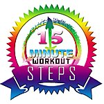 Allstars 15 Minute Workout Steps Megamix (Fitness, Cardio & Aerobic Session) (Even 32 Counts)