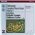 Werner Haas Debussy: Piano Works Vol.1