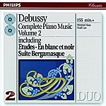 Werner Haas Debussy: Complete Piano Music Vol.2