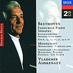 Vladimir Ashkenazy Beethoven: Favourite Piano Sonatas