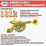 Antal Doráti Tchaikovsky: 1812 Festival Overture, Op.49; Capriccio Italien / Beethoven: Wellington's Victory
