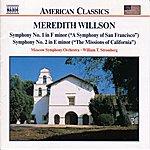 William Stromberg WILLSON, M.: Symphonies Nos. 1 and 2