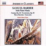 Daniel Pollack BARBER: Solo Piano Music