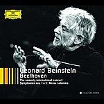 Leonard Bernstein Beethoven: The Amnesty International Concert; Symphonies Nos.7 & 9; Overtures; String Quartet Arr.; Missa solemnis