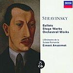 Ernest Ansermet Stravinsky: Ballets/Stage Works/Orchestral Works