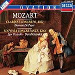 Gervase de Peyer Mozart: Clarinet Concerto/Sinfonia Concertante