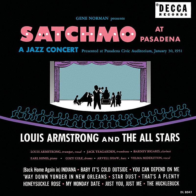 Cover Art: Satchmo At Pasadena (Live)