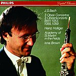 Heinz Holliger Bach, J.S.: Oboe Concerto in F; Oboe Concerto in D minor; Oboe Concerto in A