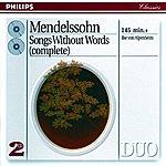 Ilse Von Alpenheim Mendelssohn: Lieder ohne Worte