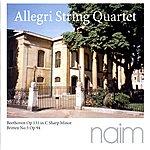 Allegri String Quartet Beethoven & Britten
