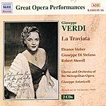 Eleanor Steber Verdi: Traviata (La) (Metropolitan Opera) (1949)