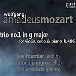 Antonio Janigro Mozart: Trio No. 1 In G Major For Violin, Cello & Piano, K. 496