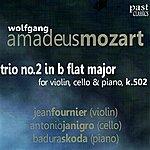 Antonio Janigro Mozart: Trio No. 2 In B Flat Major For Violin, Cello & Piano, K. 502