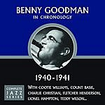 Benny Goodman Benny Goodman: Complete Jazz Series, 1940 - 1941