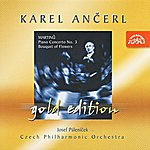 Czech Philharmonic Orchestra Ancerl Gold Edition 12 - Martinu: Piano Concerto No. 3, Bouquet Of Flowers