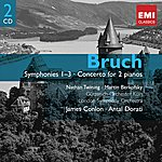 James Conlon Bruch: Symphonies And Concerto For 2 Pianos