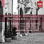André Previn Goldmark & Dohnanyi: Orchestral Works