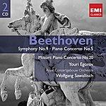 Wolfgang Sawallisch Beethoven: Symphony No.9/Piano Concerto No.5/Mozart: Piano Concerto No.20