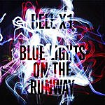 Bell X1 Blue Lights on the Runway