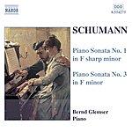 Bernd Glemser Schumann, R.: Piano Sonatas Nos. 1 and 3