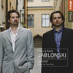 Peter Jablonski Mozart: Music for Piano Duet