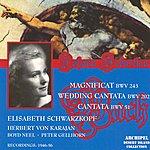 Elisabeth Schwarzkopf Bach : Magnificat, Cantates (Herbert Von Karajan 1946-1956)