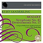Kurt Sanderling Mozart: Symphony No. 41 & Divertimento No. 17