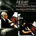 Gena Raps Mozart: Sonata in D Major K.381, Sonata in C Major K.521, Fantasy in F Minor K.608, Andante with Five Variations in G Major K.50