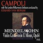 London Philharmonic Orchestra Mendelssohn: Violin Concerto in E Minor, Op. 64