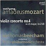 Sir Thomas Beecham Mozart: Violin Concerto No.4 in D Major, KV 218