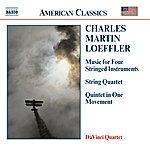 Da Vinci Quartet LOEFFLER: Music For Stringed Instruments / String Quartet