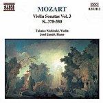 Jenő Jandó MOZART: Violin Sonatas, Vol. 3