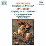 Slovak Radio Symphony Orchestra BEETHOVEN: Symphony No. 3 / SCHUBERT: Symphony No. 8