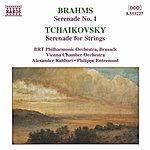 Philippe Entremont BRAHMS: Serenade No. 1 / TCHAIKOVSKY: Serenade For Strings
