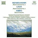 Jenő Jandó MENDELSSOHN / LISZT / GRIEG: Piano Concertos
