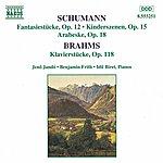 Jenő Jandó SCHUMANN, R.: Fantasiestucke, Op. 12 / BRAHMS: Klavierstucke, Op. 118