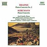 Jenő Jandó BRAHMS: Piano Concerto No. 2 / SCHUMANN: Piano Concerto In A Minor