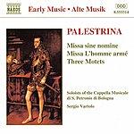 Sergio Vartolo PALESTRINA: Missa Sine Nomine / Missa L'Homme Arme / Motets